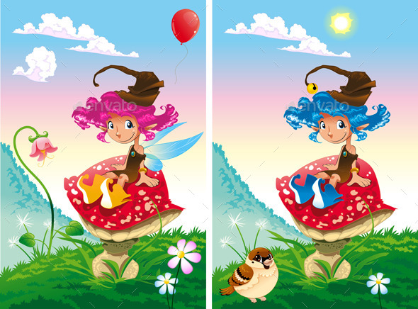 GraphicRiver Spot the Differences 9434368