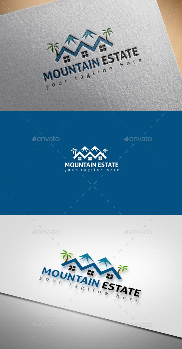 GraphicRiver Mountatin Estate 9434425