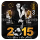 New Year's Eve Party Flyer + InstaPromo - GraphicRiver Item for Sale