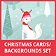 Christmas Cards/Backgrounds Set - GraphicRiver Item for Sale