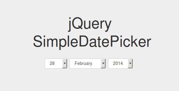 CodeCanyon jQuery simpleDatePicker 9372767