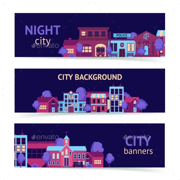 GraphicRiver City Banner Horizontal 9434852