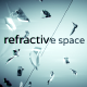 Refractive Space Logo Sting With Titles - VideoHive Item for Sale