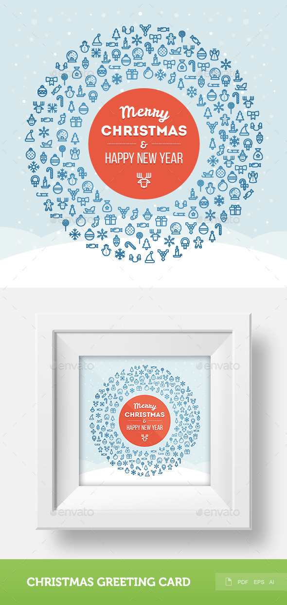 GraphicRiver Christmas Greeting Card 2 9434864