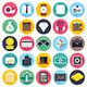 Business and Finance Flat Icons - GraphicRiver Item for Sale