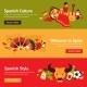 Spain Banner Set - GraphicRiver Item for Sale