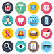 Health Care and Medical Flat Icons - GraphicRiver Item for Sale