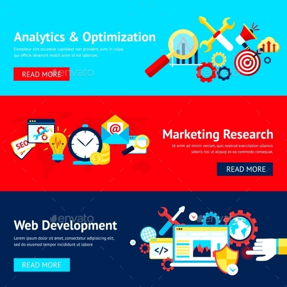 GraphicRiver Seo Banner Set 9435386