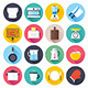 Kitchen and Cooking Flat Icons - GraphicRiver Item for Sale
