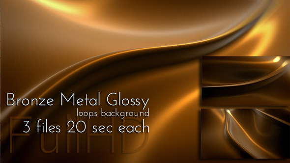 Bronze Metal Motion Background