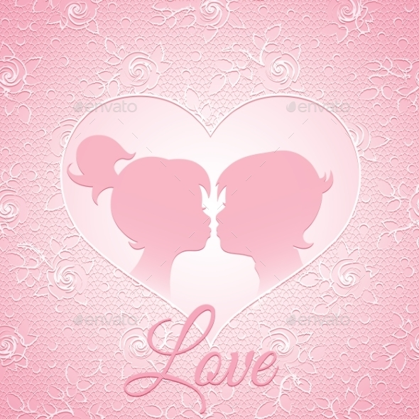 GraphicRiver Love Card 9435621