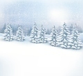 Christmas winter landscape background.  - PhotoDune Item for Sale