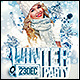 Winter Party Poster/Flyer - GraphicRiver Item for Sale