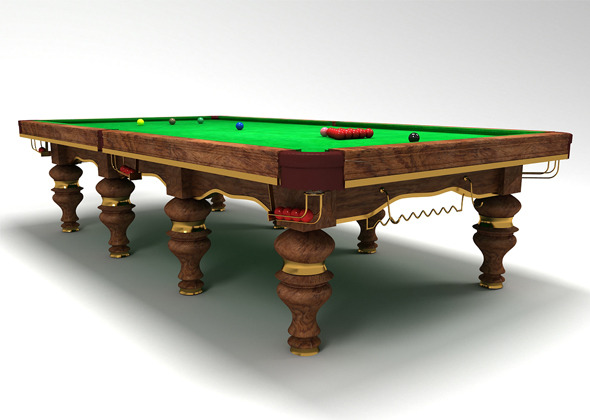 3DOcean snooker table design 9436163