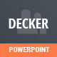 Decker Powerpoint Template - GraphicRiver Item for Sale
