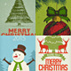 Christmas Crad/ Backgrounds - GraphicRiver Item for Sale