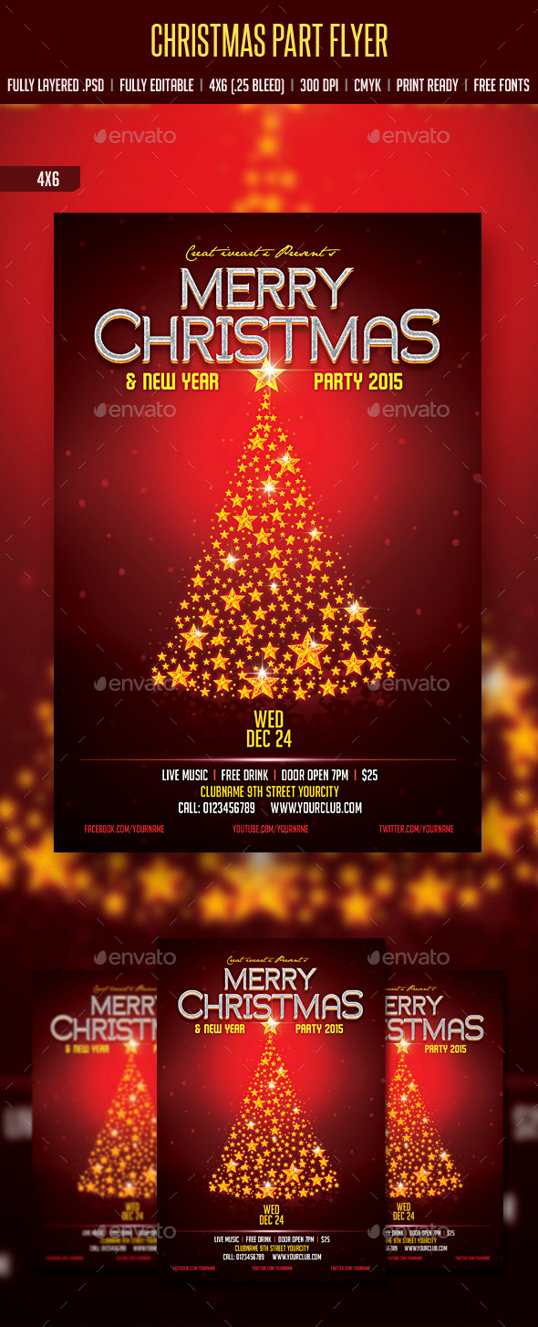 GraphicRiver Christmas Party 9436483