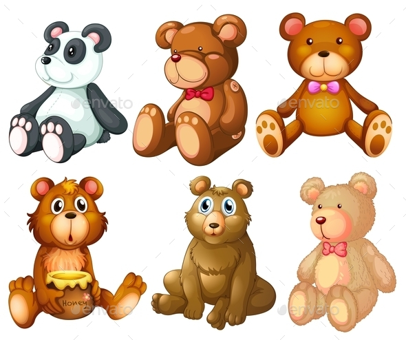 GraphicRiver Teddy Bears 9436524