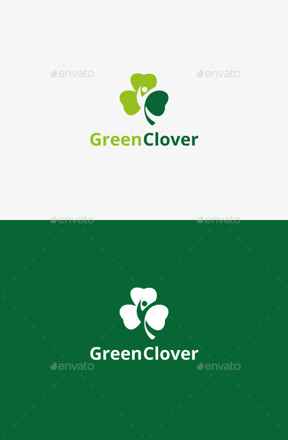 GraphicRiver Green Clover 9436590