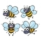 Four Bees - GraphicRiver Item for Sale