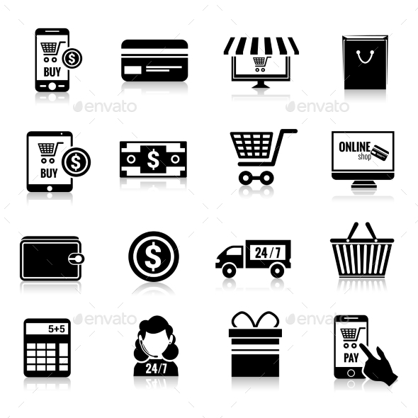 GraphicRiver E-commerce Icons 9436817