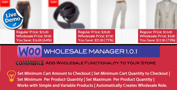 CodeCanyon Woocommerce Wholesale Manager 9375946