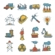 Industrial Sketch Icon Set - GraphicRiver Item for Sale