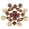chocolate candies isolated on white background - PhotoDune Item for Sale