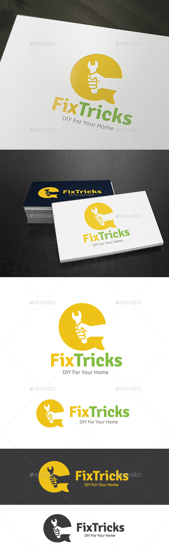 GraphicRiver DIY Fix Tricks 9437677