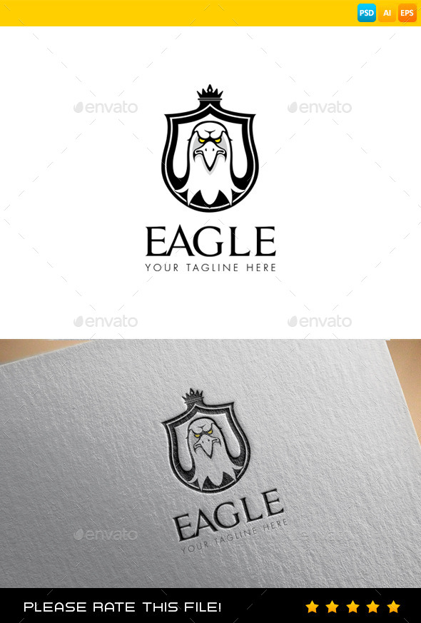 GraphicRiver Eagle Logo 9437842