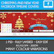 Christmas & New Year Facebook Timeline Cover - GraphicRiver Item for Sale