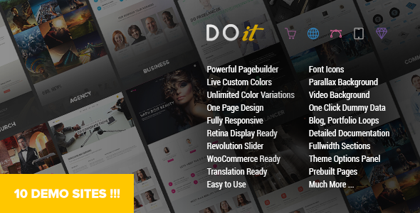 DOIT Creative MultiPurpose Theme