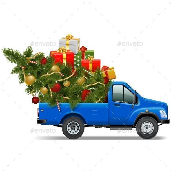 GraphicRiver Vector Christmas Pickup 9438764