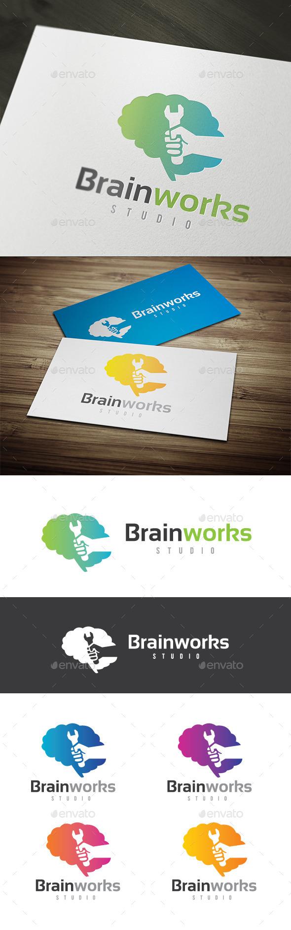 GraphicRiver Brain Works 9438960