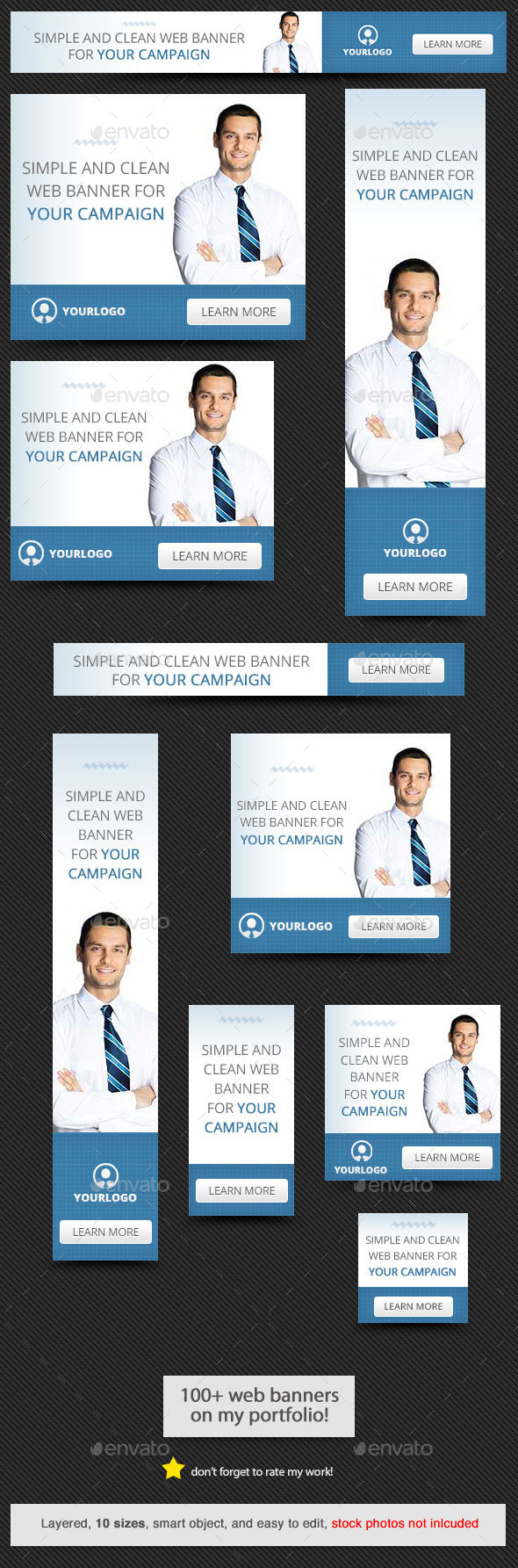 GraphicRiver Corporate Web Banner Design Template 56 9439449