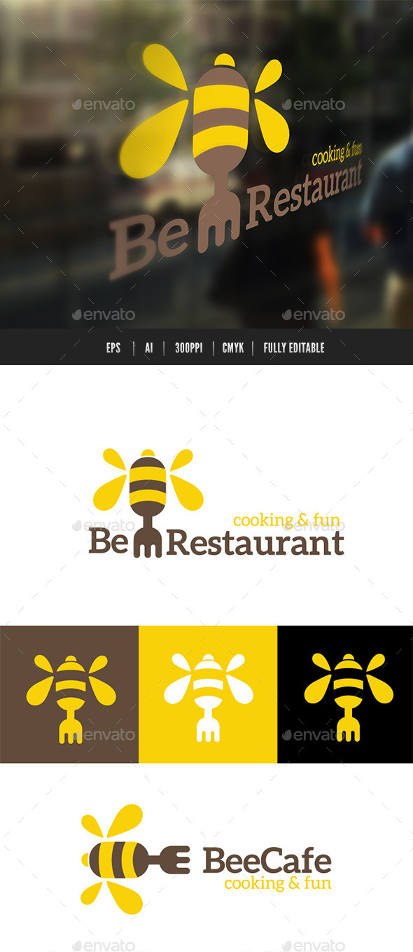 GraphicRiver Bee Restaurant 9439524