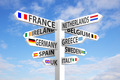 Europe Signpost - PhotoDune Item for Sale