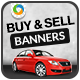 Buy & Sell Cars Banners - GraphicRiver Item for Sale