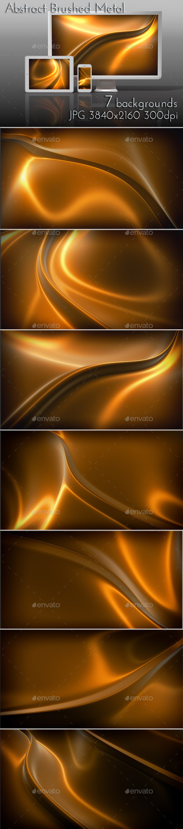 GraphicRiver Bronze Metal Brushed Surface 9440030