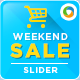 Weekend Sale Slider Image - GraphicRiver Item for Sale