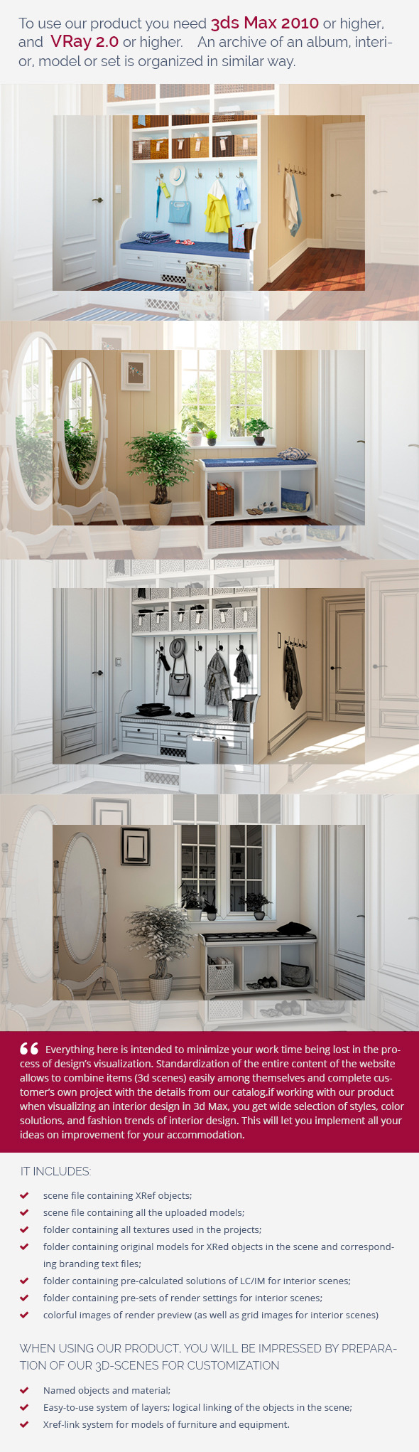 Hall 0355 - 3DOcean Item for Sale