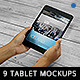 9 Photo Realistic Tablet Phone Mockups  - GraphicRiver Item for Sale