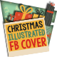 Christmas Illustrated Photo FB Cover - GraphicRiver Item for Sale