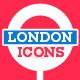 London Landmarks Premium Icons - GraphicRiver Item for Sale