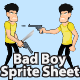 Bad Boy Sprite Sheet - GraphicRiver Item for Sale