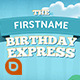 Birthday Express Slideshow - VideoHive Item for Sale