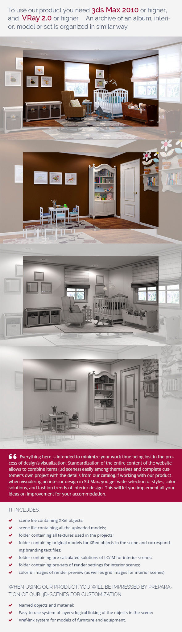 Nursery 0451 - 3DOcean Item for Sale