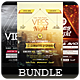 Vibes Night - Flyers Bundle [Vol.7] - GraphicRiver Item for Sale
