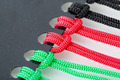 Knots on the Colorful Cords - PhotoDune Item for Sale