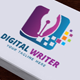 Digital Writer Logo - GraphicRiver Item for Sale